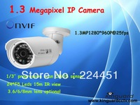 Mini 960P 2.0 Megapixel IP camera Fixed 3.6/6/8 mm lenswith POE