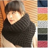 Free Shipping 2013 Korean manufacturers wholesale Korean version of the new winter warm wool scarf, Ms. Scarf Triangle