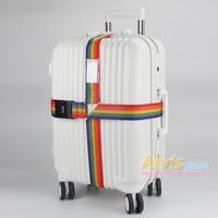 Thickening ultra long travel bag taping cross straps luggage belt packing tape