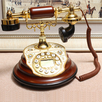 Antique telephone rotating disk wedding gift rustic fashion decoration home furnishings