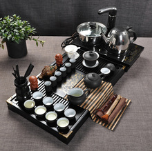 free shipping free shipping free shipping Tea set yixing tea set kung fu tea set quad wood tea tray