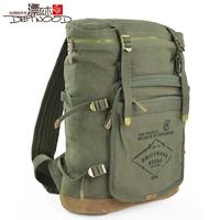 Floodwood canvas bag male  handbag student bag school bag travel bag women's handbag