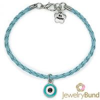 New Arrival Fashion Jewelry Handmade Turkey Blue Eyes Shamballa Bracelets for Women Wholesale Accessories Free Shipping