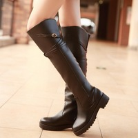 2013 winter boots platform boots fashionable casual boots all-match knee-length boots