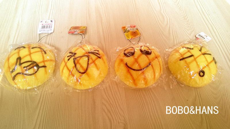 New face Pineapple bun bread squishy charm (10 cm) / mobile phone strap Pendant / Wholesale(China (Mainland))