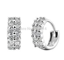 popular stud silver earrings