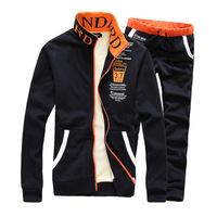 Free shipping 2014 New Men's suits Spring and fall and winter Sportswear Men warm Sports and leisure suit Sweater YJ911F95
