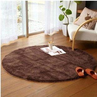 Bruge carpet circle computer chair seat customize 80*80cm chair mcircle door mat(China (Mainland))