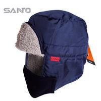 Lei Feng cap for male and female winter outdoor windproof fleece hat ear hat warm ski cap visor