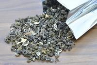 2014 tea luzhou jasmine tea special grade moon shell 250  ,Freeshipping
