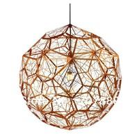 Tom dixon Dia 40 cm New Modern brass Etch web pendant light Creative Diamond Pendant Lamp Free shipping PL329