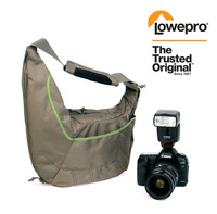 (Mica/Green) Lowepro Passport Sling II Carry Bag Shoulder Bag Digital SLR Camera free shipping