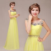 Red bride double-shoulder tube top dress handmade design long evening dress formal dress