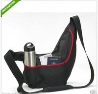New Lowepro Passport Sling II Digital SLR Photo Camera Shoulder Bag (Black/Red)  free shipping