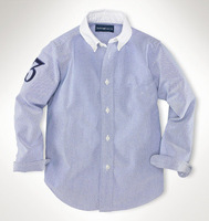 R-L men's polo shirts 100% cotton  long sleeve shirt men's cotton/ Polo casual Shirts S-XXL #7025