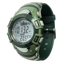 Green FX704 Foxguider Fishing Barometer Outside Hiking Sport Watch Altmeter Altitude Meter