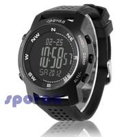 Spovan Multifunctional Compass Altimeter Electronic Air Pressure Gauge Mens Sports Watch