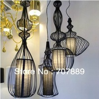 Classic Wrought iron Pendant Lights 4pcs Modern  Dining Room lamp European Nobility Lighting Fixture Free shipping PL331