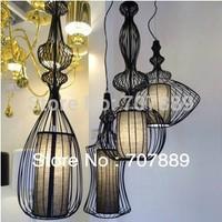 Classic Wrought iron Pendant Lights 4pcs Modern  Dining Room lamp European Nobility Lighting Fixture  PL331