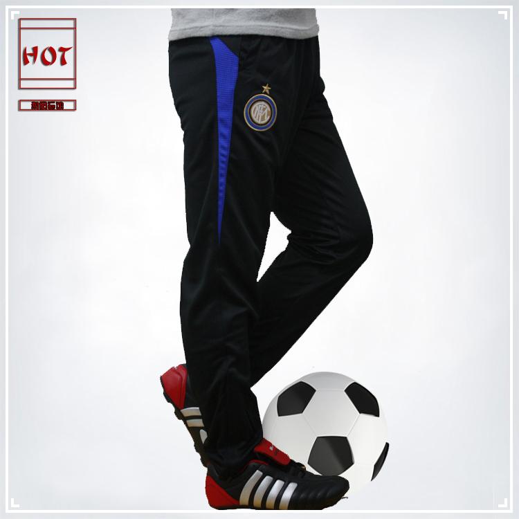 Soccer training pants legs pants football trousers championsleague male sports pants(China (Mainland))