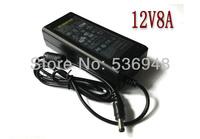 US/UK/AU/EU Plug AC 100-240V DC 12V 8A 96W Led Strip Light Switch Adapter Power Supply