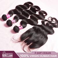 1 PC Lace Closure With Bundles 3PCS Peruvian Virgin Hair Body Wave,3 Part Lace Closure 4*4 Peruvian Virgin Hair,Free Shipping