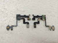 Free shipping 10pcs/lot  wholesale light proximity sensor induction power on/off flex cable repair parts for iphone 4S