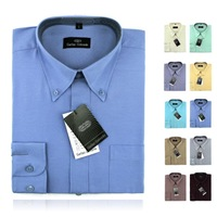 2015 Brand New style Design Mens Shirts high quality Casual Slim Fit Stylish Dress Shirts 10 Colors Size:S~XL Free Shipping