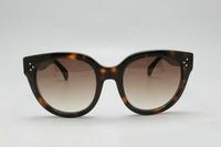 Brand Vintage Designer Fashion Cat Eye Sunglasses For Women CL41755 Import Plate Retro Sun Eye Glasses oculos de sol feminino