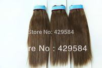 Free Shipping! Hhigh quality #4 yaki straight wetf,brazilian human hair weave,3 Bundle Machine Weft,in stock,guaranteed quality