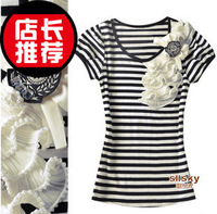 2013 women's xiaxin short-sleeve T-shirt 157