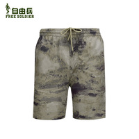 camouflage shorts mens Tactical outdoor casual beach shorts quick-drying waterproof outdoor