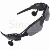 Brand New Black Stereo Wireless Bluetooth Sunglasses Headset Music for iPhone 5S 5C Samsung Nokia HTC