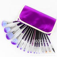 16pc kits magic purple import persiano makeup Brushes