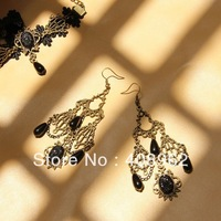Hot sale earring jewelry wholesale, Gothic style earrings,Vintage hook earrings