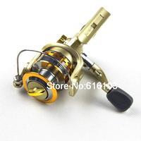 SG 5000 5.1 1 Gear Ratio 6 Ball Bearings Spinning Spool Reel Roller Gold