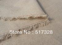 Natural  linen fabric DIY craft linen cotton natural color  linen cotton fabric 150*100cm