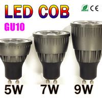 5pcs Holiday Sale GU10 5W 7W 9W COB Led Spot Light Warm /Cool White High Brightness Bulb Lamp Spotlight-Limited Time Offer