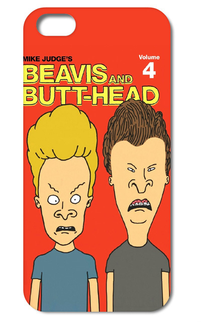 1PC Beavis And Butt Head Cartoon style hard back cover case for iphone 4 4s 5 5S free shipping(China (Mainland))