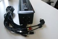 220v electric desk socket pop up for conference table