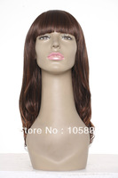 Lady's Fashion Wig,Synthetic Hair Wig,wigs,Super Long Wavy  wig,light brown,beautiful wig
