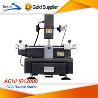 ACHI Factory 100% Original ACHI IR12000 220V Dark Infrared Rework Station Touch-screen control BGA rework station Free Shipping