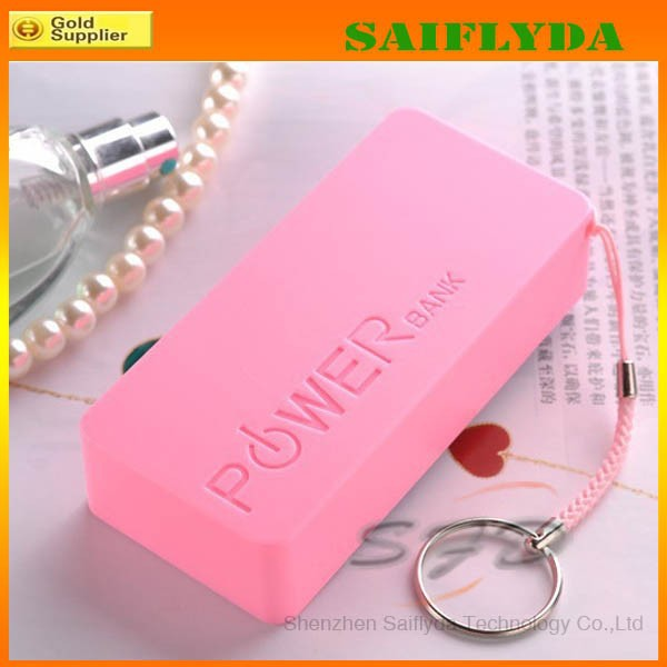Hot selling 5600mAh capacity universal portable power bank with small size perfume power bank with key chain free shipping(China (Mainland))