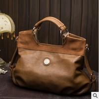 New 2014 Fashion Desigual POLO Brand Handbags Cow Genuine Leather Shoulder Bags Women Messenger Bag Items Totes Bolsas Bule