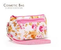 coin purse 100% cotton small fresh multifunctional small change handle bag storage bag
