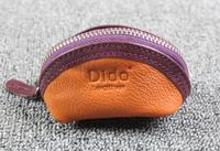 coin purse Fashion coin purse bag key wallet cowhide Women