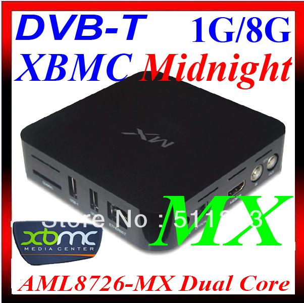 DVB-T Receiver Google Android 4.2 XBMC MX Smart TV Box IPTV WiFi Internet HD 1080P HDMI player ARM Cortex A9 1GB /8GB ET02 DVB T(China (Mainland))