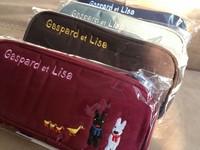 coin purse Tulander three-dimensional embroidery cartoon animal letter pencil case coin purse