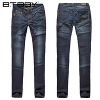 Btboy female straight jeans pants women
