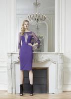 Коктейльное платье line